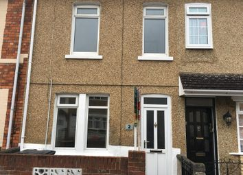 Thumbnail 2 bed terraced house to rent in Butterworth Road, Swindon