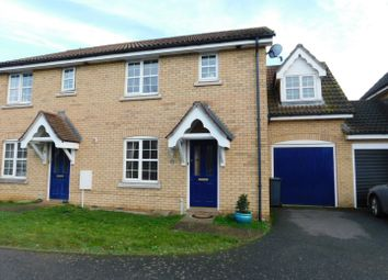 Thumbnail 3 bed semi-detached house for sale in Blackbird Way, Stowmarket