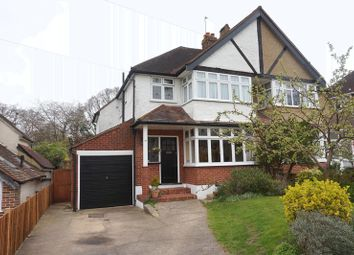Thumbnail 3 bed semi-detached house for sale in Commonfield Road, Banstead