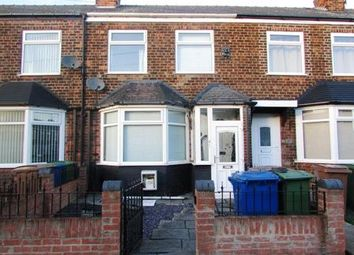 Thumbnail 3 bed terraced house for sale in Cambridge Road, Hessle