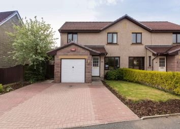 Thumbnail 3 bed semi-detached house for sale in Coubert Road, Newmachar, Aberdeen