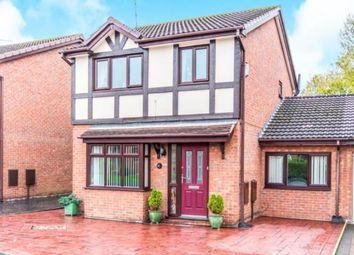 Thumbnail 4 bed detached house for sale in Barlow Fold Road, Reddish, Stockport, Cheshire