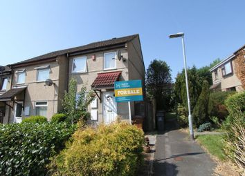 Thumbnail 2 bed terraced house for sale in Churchlands Road, Woolwell, Plymouth