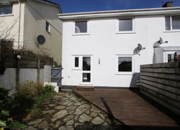 Thumbnail 2 bed semi-detached house for sale in Ventonlace, Grampound Road
