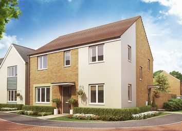 "Thumbnail 4 bed detached house for sale in ""The Chedworth Corner"" at Christie Drive, Hinchingbrooke Park Road, Huntingdon"