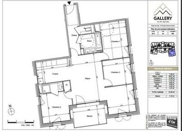Thumbnail 3 bed apartment for sale in Saint-Gervais-Les-Bains, Haute-Savoie, France