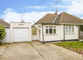 Thumbnail 2 bed semi-detached bungalow for sale in Ongar Road, Kelvedon Hatch, Brentwood