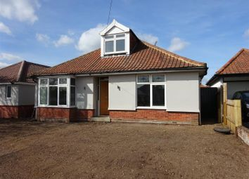 Thumbnail 3 bed detached bungalow for sale in Bixley Road, Ipswich
