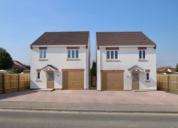 Thumbnail 3 bed detached house for sale in Woolavington Hill, Woolavington, Bridgwater