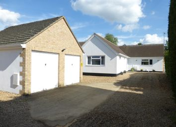 Thumbnail 5 bedroom detached bungalow for sale in Church Street, Werrington, Peterborough