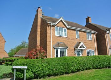 Thumbnail 4 bed detached house for sale in Delaine Close, Bourne, Lincolnshire