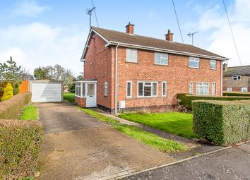 Thumbnail 3 bedroom semi-detached house for sale in St Marys Close, Farcet, Peterborough