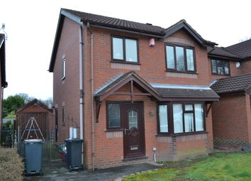 Thumbnail 3 bed detached house for sale in The Elms, Newcastle-Under-Lyme