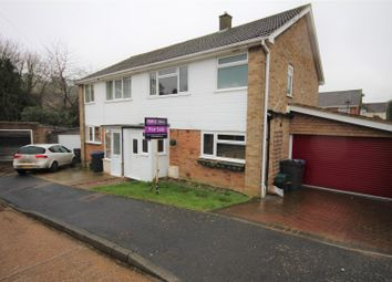 Thumbnail 3 bed semi-detached house for sale in The Close, Dover