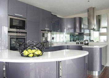 Thumbnail 3 bedroom flat to rent in The Oxygen, 18 Western Gateway, Royal Victoria, London