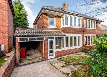 Thumbnail 3 bed semi-detached house for sale in North Bank Avenue, Pleckgate, Blackburn, Lancashire