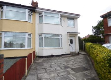 Thumbnail 3 bed semi-detached house for sale in Wills Avenue, Maghull, Liverpool
