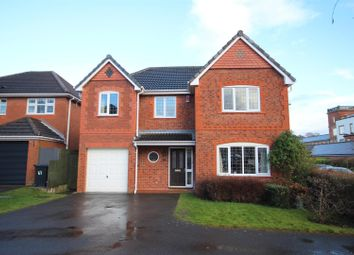 Thumbnail 4 bed detached house for sale in Merlin Way, Mickleover, Derby