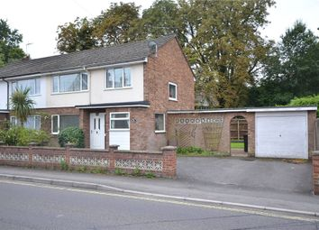 Thumbnail 3 bed semi-detached house for sale in Aldershot Road, Fleet, Hampshire