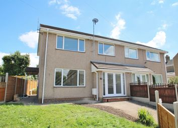 Thumbnail 3 bed semi-detached house for sale in Holcot Road, Coalway, Coleford, Gloucestershire