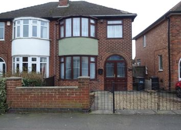 Thumbnail 3 bedroom semi-detached house to rent in Aylestone Drive, Leicester