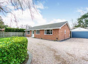 Thumbnail 4 bed detached bungalow for sale in Verwood Road, Woodlands, Wimborne