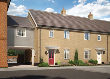 Thumbnail 3 bed link-detached house for sale in Halstead Road, Stanway, Essex