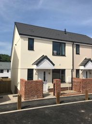 Thumbnail 3 bed semi-detached house for sale in Coombe Lane, Tamerton Foliot, Plymouth
