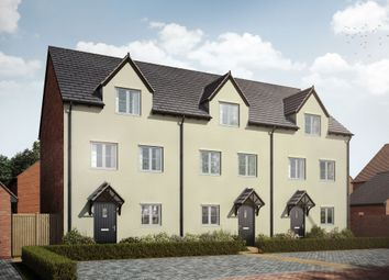 "Thumbnail 3 bed terraced house for sale in ""The Stowe"" at St. James Way, Biddenham, Bedford"