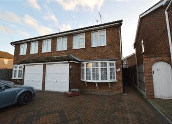 Thumbnail 3 bed semi-detached house for sale in Fairview Drive, Westcliff-On-Sea, Essex