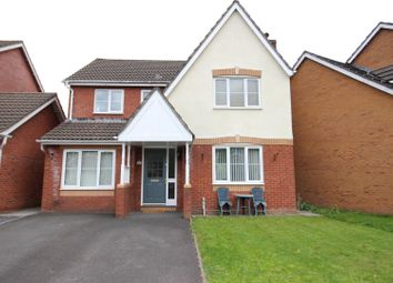Thumbnail 4 bed detached house for sale in Delphinium Road, Rogerstone, Newport