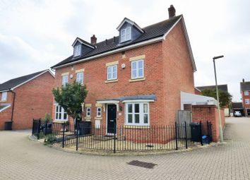 Thumbnail 4 bed town house for sale in Hartley Gardens, Gloucester