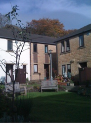 Thumbnail 1 bed flat to rent in The Hawthorns, Booth Road, Waterfoot, Rossendale