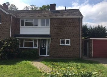 Thumbnail 4 bed semi-detached house to rent in Hollytree Gardens, Frimley, Camberley