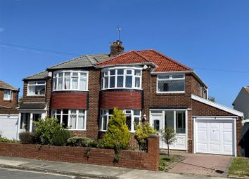 Thumbnail 3 bed semi-detached house for sale in Lingdale Avenue, South Bents, Sunderland