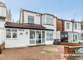 Thumbnail 4 bed link-detached house to rent in Bernard Road, Edgbaston