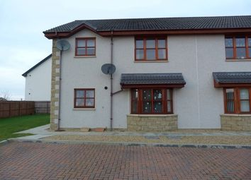 Thumbnail 2 bed flat to rent in Thornhill Drive, Elgin