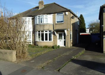 Thumbnail 3 bed semi-detached house for sale in Carr Manor Road, Moortown