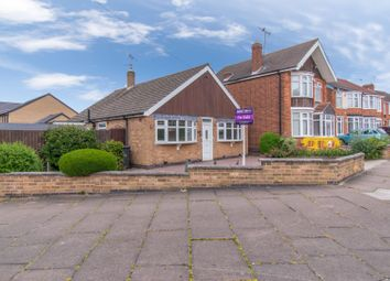 Thumbnail 2 bed detached bungalow for sale in Hylion Road, Leicester