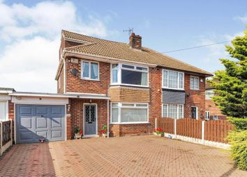 Thumbnail 3 bed semi-detached house for sale in Hollys House Road, Ravenfield, Rotherham