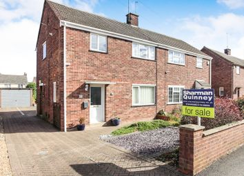 Thumbnail 3 bed semi-detached house for sale in Peake Close, Woodston, Peterborough