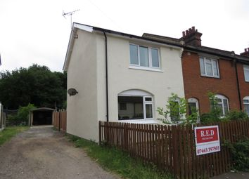 Thumbnail 3 bed end terrace house for sale in Foster Road, Parkeston, Harwich