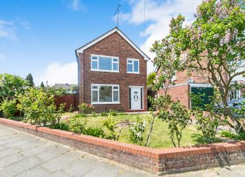 Thumbnail 3 bed detached house for sale in Churchill Avenue, Ipswich
