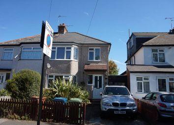 Thumbnail 3 bed semi-detached house to rent in Canterbury Road, North Harrow, Harrow