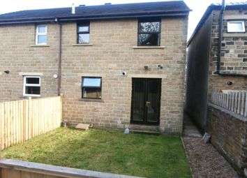 Thumbnail 2 bed semi-detached house for sale in Royd Street, Slaithwaite, Huddersfield