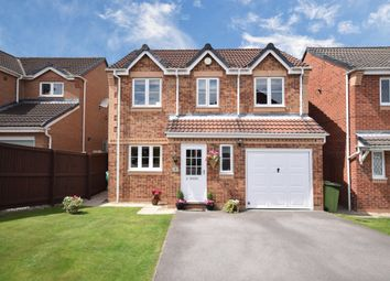 Thumbnail 4 bed detached house for sale in Springfield Court, Normanton