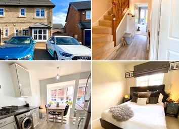 Thumbnail 3 bed semi-detached house for sale in Hampstead Way, Middlesbrough
