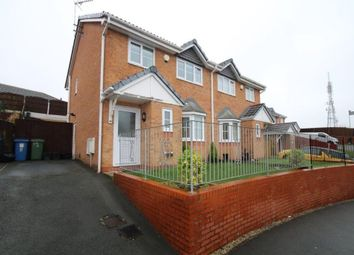 Thumbnail 3 bed semi-detached house for sale in Broughton Heights, Pentre Broughton, Wrexham