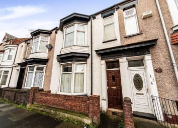 Thumbnail 3 bed terraced house for sale in Cornwall Street, Hartlepool, County Durham