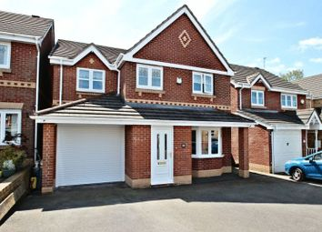 Thumbnail 5 bed detached house for sale in Jasmine Crescent, Newchapel, Stoke-On-Trent